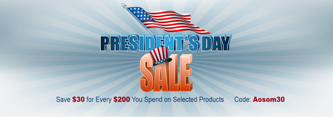 2018 President's Day Sale