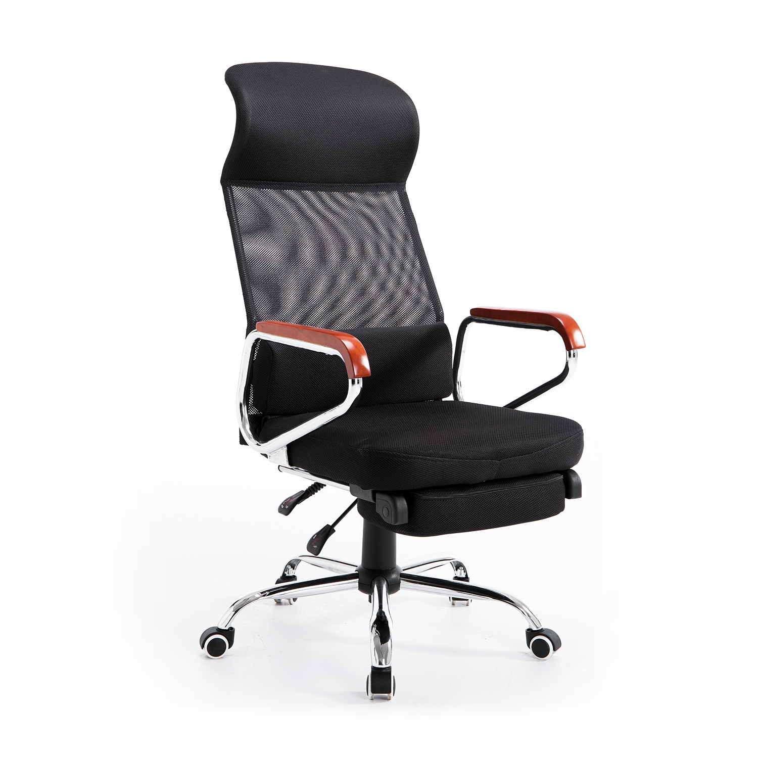 Hom Mesh High Back Reclining fice Chair with Foot Rest