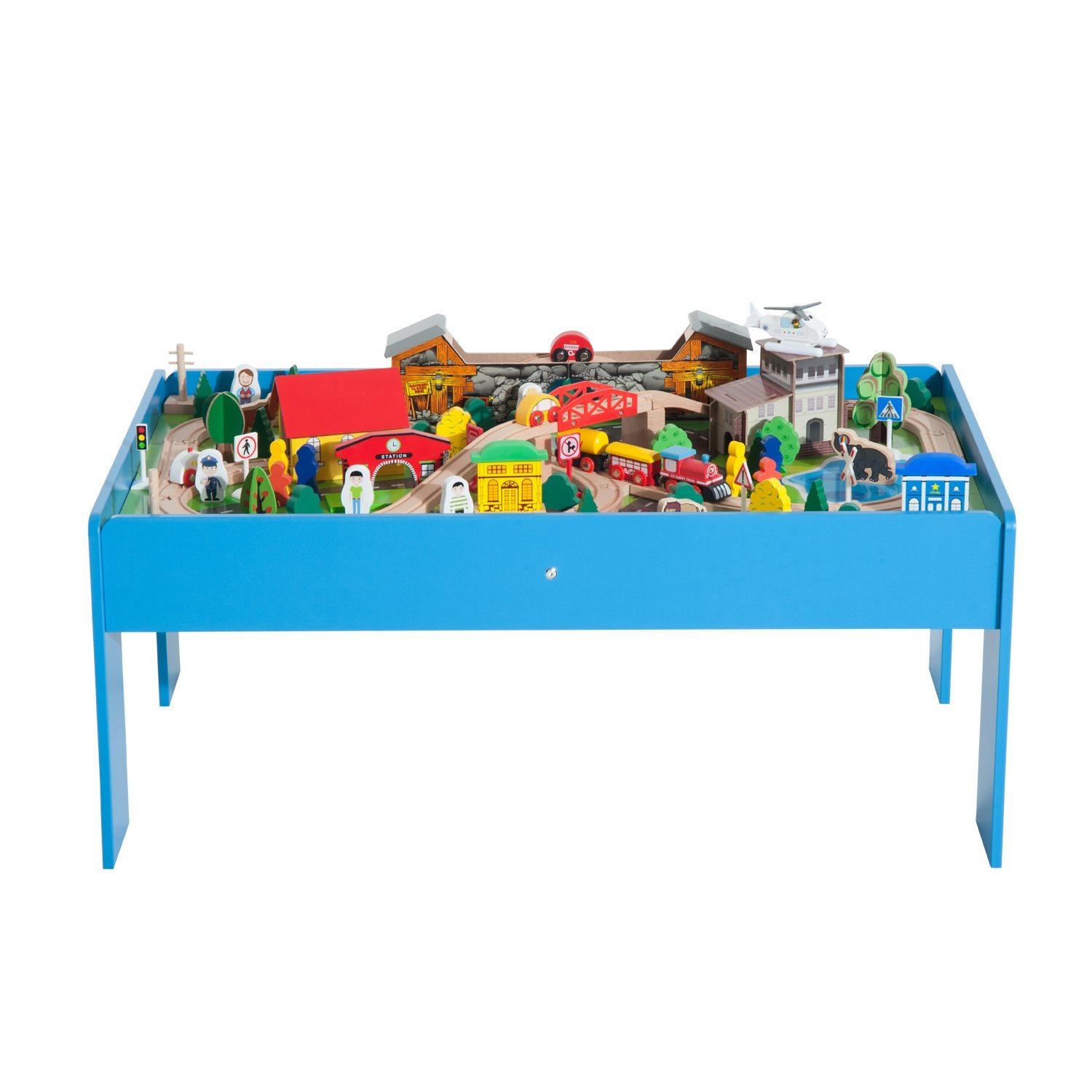 100 train set play table super highway train set and table