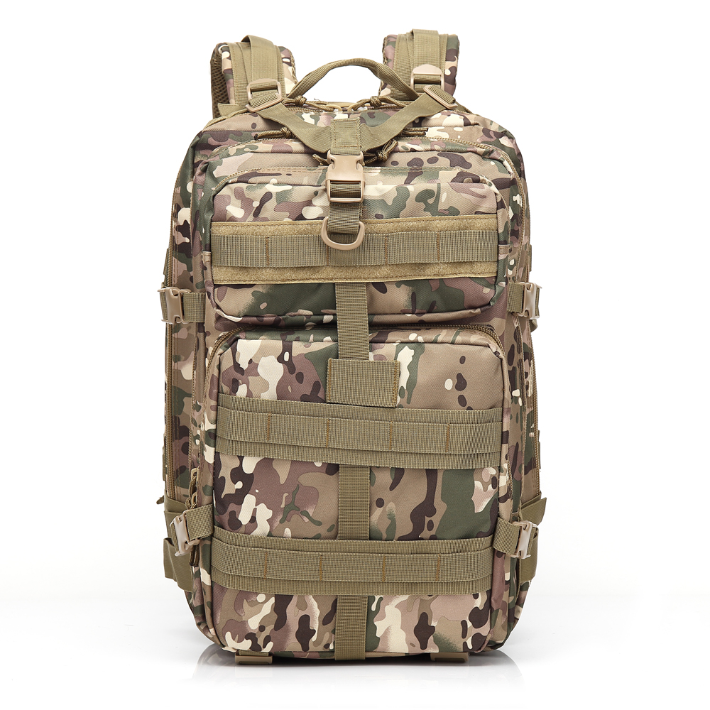 3P 45L Outdoor Marching Knapsack Tactical Backpack CP Camouflage