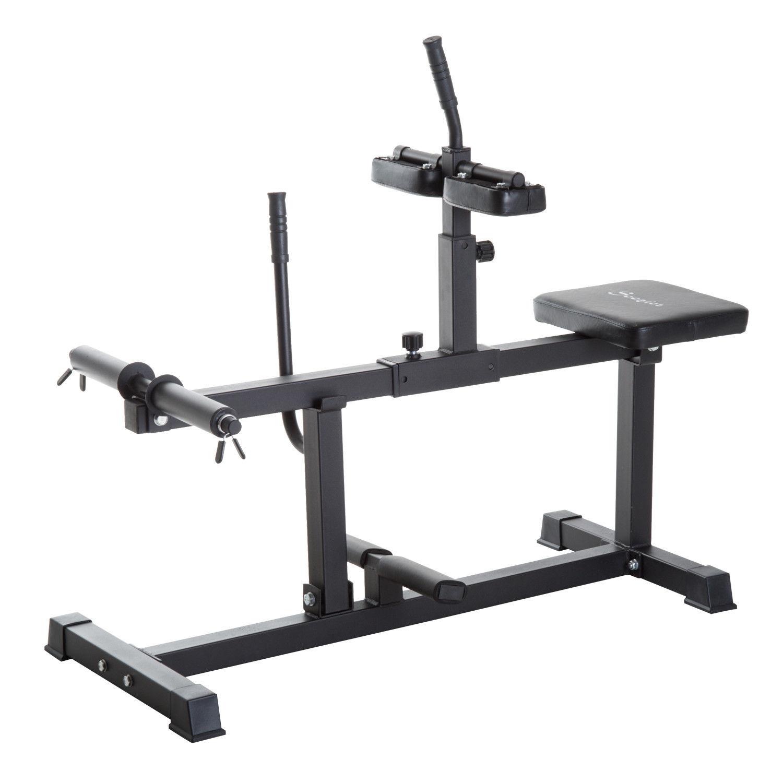 Soozier Adjustable Home Gym Calf Raise Strength Training Gym Equipment
