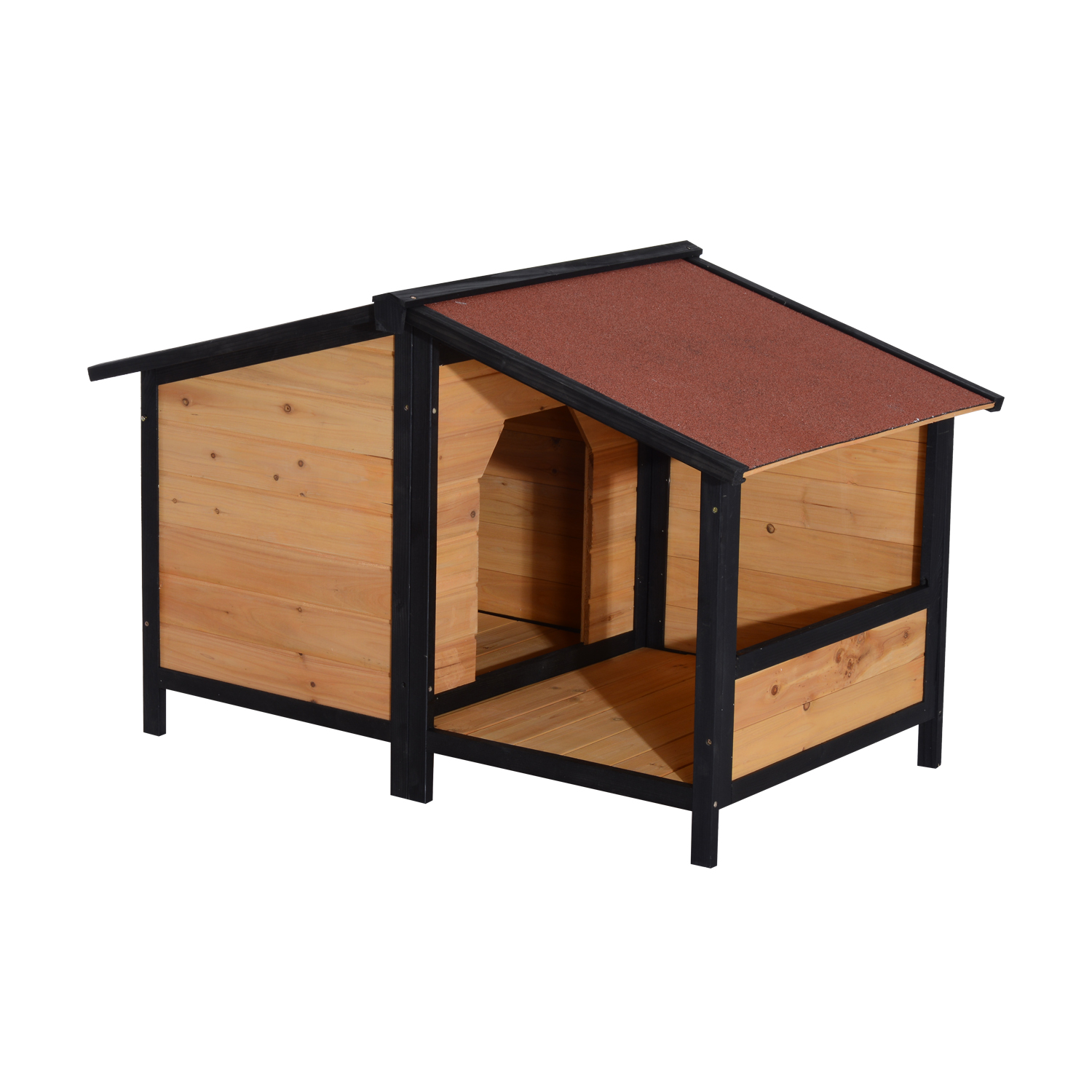 Aosom | Pawhut Small Elevated Dog House with Opening Roof - Pets - Clearance  sc 1 st  Aosom & Aosom | Pawhut Small Elevated Dog House with Opening Roof - Pets ... memphite.com