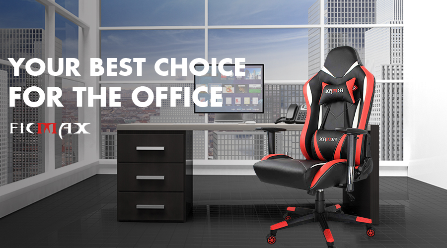 Ergonomic Office Chair Racing Style High Back Computer Pc